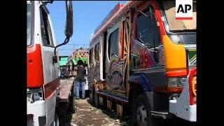 Download Haiti's decorative tap-tap buses Video