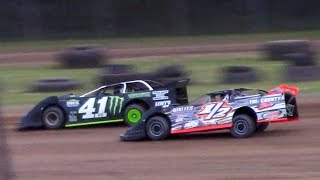 Download RUSH Crate Late Model Heat Two   McKean County Family Raceway   6-16-18 Video