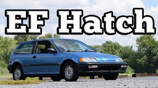 Download 1991 Honda Civic ED6 EF Hatch: Regular Car Reviews Video