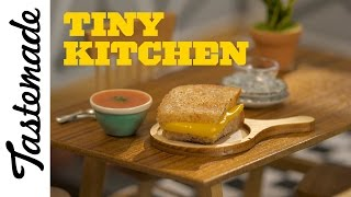 Download Tiny Grilled Cheese & Tomato Soup l Tiny Kitchen Video