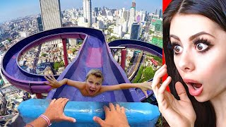 Download Funniest WATER SLIDE Fails ! Video