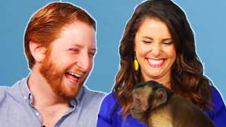 Download Monkey Lover Gets Surprised By A Monkey Video