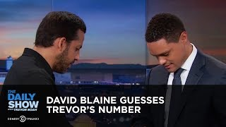 Download David Blaine Guesses Trevor's Number - Between the Scenes | The Daily Show Video
