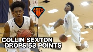 Download Collin Sexton GOES CRAZY For 53 Points & 11 Threes On His Senior Night!! Video