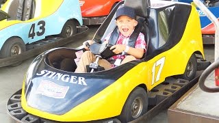Download KIDS Laugh at FIRST Go-Cart RACE! THE BEST DAY! KiDS VICTORY DANCE! Video