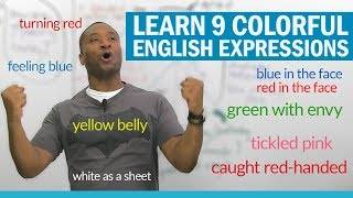 Download Learn English color expressions to talk about situations & emotions Video