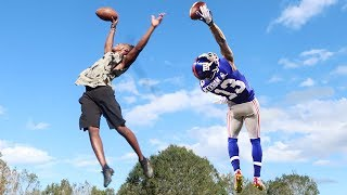 Download ODELL BECKHAM ONE HANDED CATCH CHALLENGE! Video