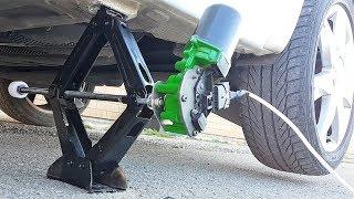 Download Cómo hacer un gato eléctrico para cambiar la rueda del automóvil /carro. Video