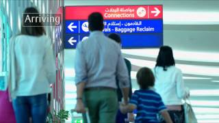 Download Emirates Airlines Dubai International Airport Terminal 3 Video