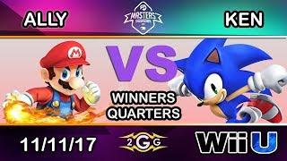Download IBP Masters 2017 - C9 | Ally (Mario) Vs. KEN (Sonic) Winners Quarters Video