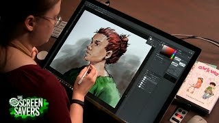 Download The New Screen Savers 82: Microsoft Surface Studio Video