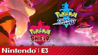 Download 21 Minutes of Pokemon Sword & Shield Gameplay | Nintendo Treehouse E3 2019 Video