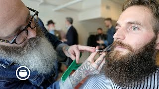 Download Master Barber Tames Wild Beard | CxBB VIP Video