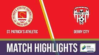 Download HIGHLIGHTS: St. Patrick's Athletic 5-2 Derry City Video