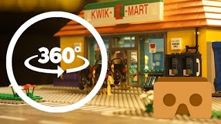 Download LEGO Simpsons Meet The Ghostbusters VR 360 Part 1 Funny Stop Motion Animation Video