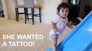 Download BABY GETS A TATTOO!!! Video