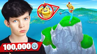Download My Little Brother Gets 100k VBucks if he Wins! (Fortnite King of the Hill) Video