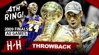 Download Kobe Bryant 4th Championship, Full Series Highlights vs Magic (2009 NBA Finals) - Finals MVP! HD Video