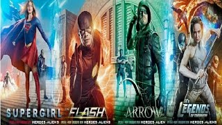 Download The Flash ⚡ Arrow ↣ Supergirl & DC Legends of Tomorrow Crossover music video Video
