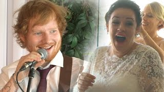 Download Ed Sheeran Surprises Deserving Wedding Couple! Video