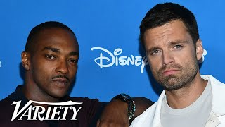 Download Anthony Mackie and Sebastian Stan Talk 'Falcon and the Winter Soldier' Video
