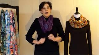 Download How to Wear a Scarf 5 - Infinity Scarves Video