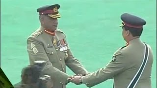 Download Gen. Raheel Sharif Transfers his Power to General Qamar Javed Bajwa in Grand Ceremony Video