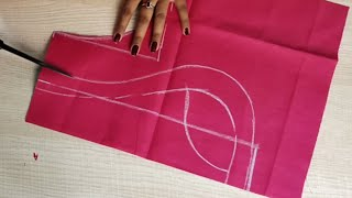 Download Paithani blouse back neck design cutting and stitching /blouse designs Video