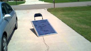 Download DIY - Attempt at home made solar panels - Wasn't a good idea!! Video