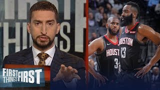Download 'The Chris Paul and James Harden tension is real' - Nick Wright | NBA | FIRST THINGS FIRST Video