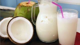Download cómo hacer AGUA DE COCO NATURAL. Video