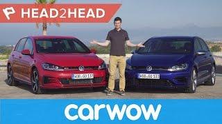 Download Volkswagen Golf R vs Golf GTI Performance 2018 review | Head2Head Video