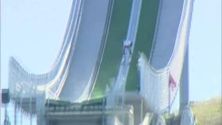 Download Nick Fairall - Ski Jumping Crash, PyeongChang 09 Video