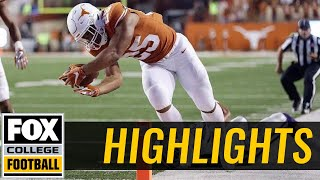 Download Kansas State vs Texas | Highlights | FOX COLLEGE FOOTBALL Video