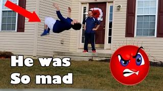 Download BACKFLIPS AT PEOPLES DOORSTEPS! Video