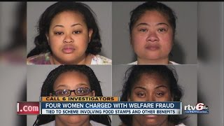 Download Four women charged with welfare fraud Video