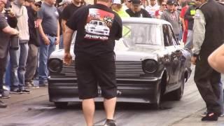 Download Street outlaws Daddy Dave vs Crashing Mustang at No Prep Mayhem Video