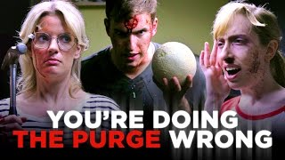 Download You're Not Purging; You're Just Being a Dick (CH Does the Purge) Video