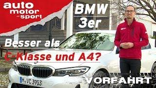 Download BMW 3er 320d G20 (2019): Besser als C-Klasse und A4? - Vorfahrt (Review) I auto motor und sport Video