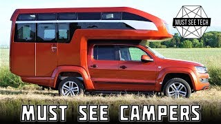 Download Top 7 NEW Motorhomes and Impressive Truck Bed Campers in 2018 Video