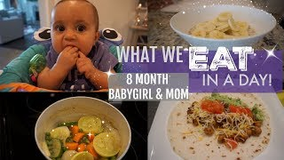 Download WHAT WE EAT IN A DAY // 8 MONTH OLD BABY & MOM // Volume 1 Video