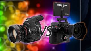 Download Canon C300 vs The Red Scarlet! Video