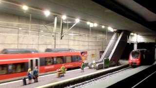 Download S Bahnstation H0 mit Testbetrieb Video