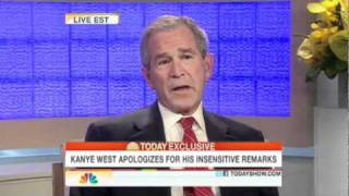 Download Kanye West apologizes to George W. Bush Video