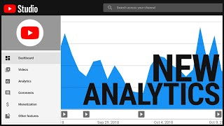 Download Analytics in the NEW YouTube Studio Video