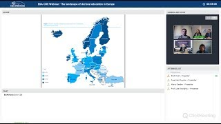Download EUA-CDE webinar: The landscape of doctoral education in Europe Video