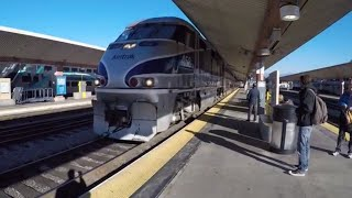 Download Train Ride from Los Angeles to San Francisco Video