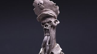 Download sculpting evil in water based clay Video
