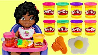 Download High Chair MOANA with Play-doh Noodle Makin' Mania Spaghetti Kitchen Creation Playset Video