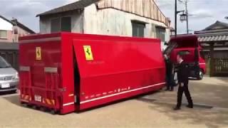 Download Así es la entrega a domicilio de un Ferrari Video